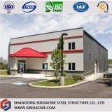 Prédio de escritórios de aço da construção com multi história