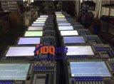 タイタンシステムが付いているAvolitesのトラの接触DMX照明コンソール