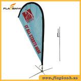 bandiera del Teardrop di stampa di 2.8m Digitahi/bandierina di alluminio di pubblicità del Teardrop