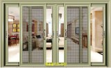 Customiezd Design Double Tempered Glass Aluminum Sliding Door with Screen