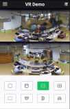 Câmera IP Fisheye CCTV de segurança de cúpula de 6MP (IPDE20H600)