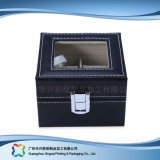 시계 보석 선물 (xc dB 010c)를 위한 호화스러운 나무로 되는 서류상 전시 수송용 포장 상자