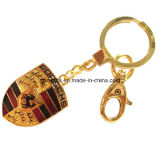 Smalto in lega di zinco portabile Keychains dell'automobile