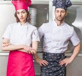 Manches courtes et longues OEM Workwear Chef uniforme avec capuchon