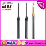 La flauta de carburo de tungsteno Jinoo 2 Molino de final de ranura profunda