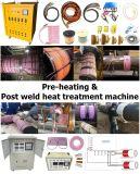 Máquina pre de la calefacción y del tratamiento térmico de la autógena del poste