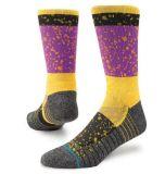 Rosa-und Gelb-Entwurf Soem-Komprimierung-Socke
