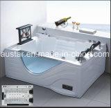 BALNEARIO de la bañera del masaje de la esquina del rectángulo de 1700m m con el Ce RoHS para 2 personas (AT-0750-1)