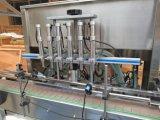 Automatic 4/6/8 jefes de la máquina de llenado de líquido del émbolo de la línea de producción