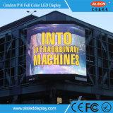 HD P10 옥외 풀 컬러 LED 모듈 위원회 스크린 광고