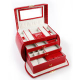 Cassa portatile dei monili di bellezza della casella di caso di trucco di caso cosmetico di modo