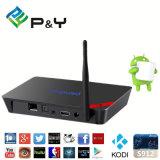 最もよいプロ2g/16gデュアルバンド2.4G/5g WiFiのアンドロイド6.0のAmlogic S912 TVボックス