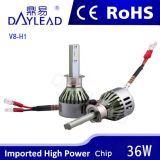 phare de 6000k 3600lm DEL avec le certificat de RoHS ISO9001 de la CE