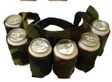 Многоразовый пояс мешков пива 6-Pack напольный носит мешки хранения питья
