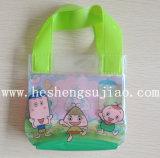 축제 (YJ-B020)를 위한 손잡이를 가진 사랑스러운 PVC 선물 상자