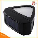 2개의 LED 옥외 태양 에너지 태양 담 램프, 태양 정원 빛, 태양 벽 빛