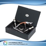 Caixa de empacotamento de couro luxuosa para o cosmético da jóia do alimento do presente (xc-hbg-017A)