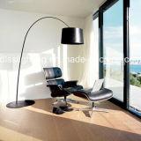 Moderno Diseño simple Gran cubierta de aluminio permanente interior Decoartion lámpara de pie