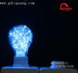 党装飾の銅線ライトDimmable青いRGB LEDの球根