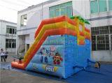 Doppia trasparenza di acqua del vicolo, trasparenza gonfiabile dei bambini con il raggruppamento