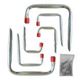 Crochet simple résistant à la corrosion de vélo de garage d'acier inoxydable