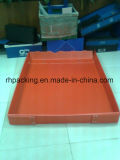 Зеленый PP пластиковый лоток с режущей умирают/ PP системной платы из гофрированного картона 2мм 3 мм 4 мм 5 мм