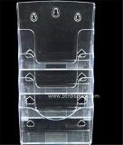 명확한 플라스틱 A5 4 타이어 브로셔 홀더 제조자 Btr H6308 2