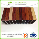 El polvo Finished de la capa del grano de madera de madera del efecto se aplicó por proceso del traspaso térmico