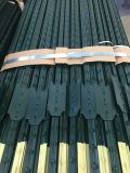 ASTM 기준을%s 가진 장식용 목을 박은 T 포스트에 의하여 직류 전기를 통하는 담 포스트 도매