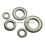 DIN125 plaqué zinc jaune en acier au carbone de rondelles plates