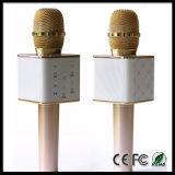 Q7 inalámbrico Karaoke micrófono de mano micrófono del altavoz de Bluetooth