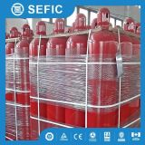 68L 150bar 45kg de CO2 Cilindro utilizado para sistema de incêndio