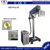 Instalação cheia da máquina em linha da marcação do laser para o mercado de India