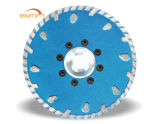 180 mm Hoja de sierra de diamante sinterizado de Turbo