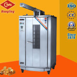 Horno industrial de la parrilla del acero inoxidable/horno de la carne/horno de la carne asada para el equipo de la panadería