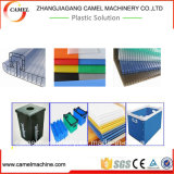 Le plastique creux de panneau de réseau de /PP/PE/PVC de PC lambrisse la chaîne de production d'extrusion