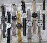 남자와 숙녀를 위한 주문 금속 손목 시계