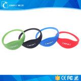 125kHz braceletes impermeáveis do silicone RFID