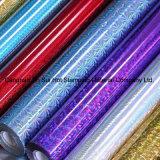 Hologramm-Folien-Laser-heiße stempelnde Folie von der Fabrik