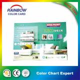 Papel de impresión de pintura de pared de color de catálogo de tarjetas para la publicidad