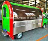 La comida rápida móvil de carretilla elevadora, camión cesta de comida rápida