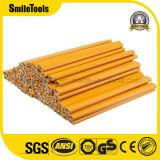 lápiz promocional octagonal de madera de 7 '' constructores del carpintero