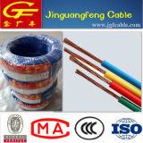 Bvr 300 / 500V Cu / Al Conducteur PVC isolé et câble à fourreau non gainé