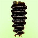 中国語またはインドかブラジルの巻き毛のバージンの人間の毛髪のよこ糸