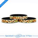 Wristband di gomma molle di alta qualità per l'identificazione Keychain del regalo del regalo