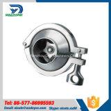 Válvulas de verificação do Non-Return da braçadeira do produto comestível de aço Dn50 inoxidável tri