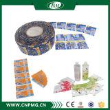 Fait dans l'étiquette de chemise de rétrécissement de PVC de la Chine pour la bouteille d'eau