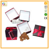 Boîte-cadeau de papier de empaquetage de cadre de cadeau de papier fait sur commande en gros