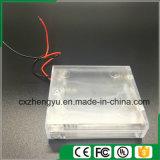 4AA löschen Batteriehalterung mit den roten/schwarzen Leitungen, decken ab und schalten
