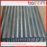 Galvanizado corrugado hoja de acero de techo